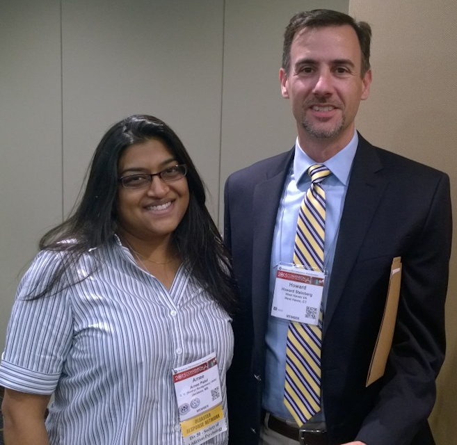 Amee Patel and Howard Steinberg