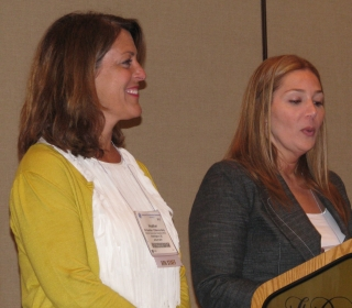 Diane Elmore and Heather Kelly