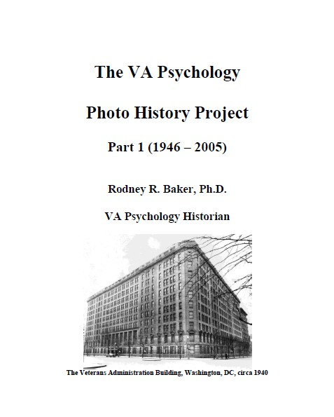 Cover of VA Psychology Photo History Project
